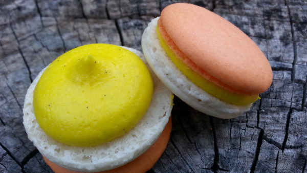 Candy Corn Macaron Oklahoma city 5 star macaron macarons top rated best oklahoma mail order hand made