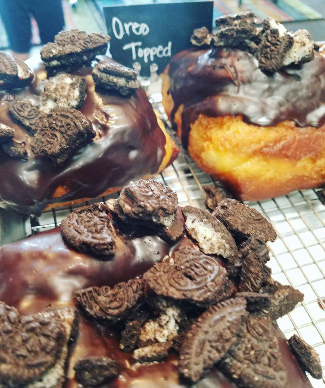 doughnut donut best five star cake oreo topped chocolate glazed sweet fried near me fresh soft