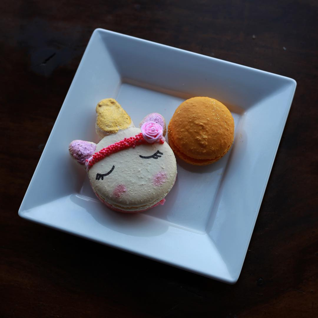 Our unicorn macarons are legendary! And