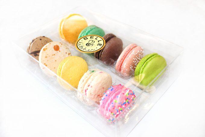 macarons, macaron, woops, ganache, pinkitzel, la baguette, wholelfoods, best macaron, best macaroon, cheapest macaron okc