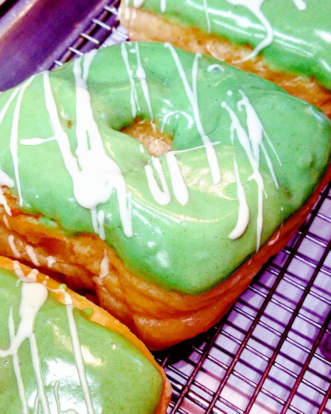Yup. The SHENANIGANS Doughnut. Green App