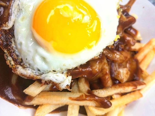 The Morning After…the Poutine + �